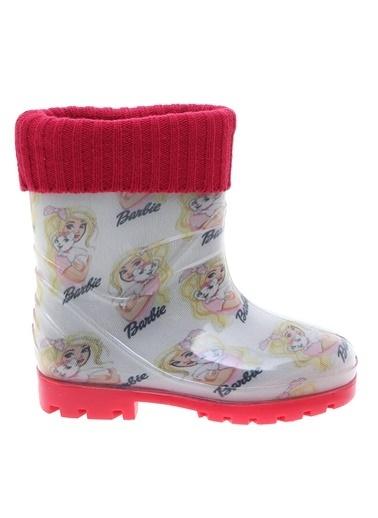 Barbie Yağmur Çizmesi Beyaz
